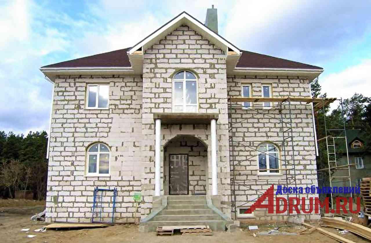 Строительство домов из сибита в Новосибирске