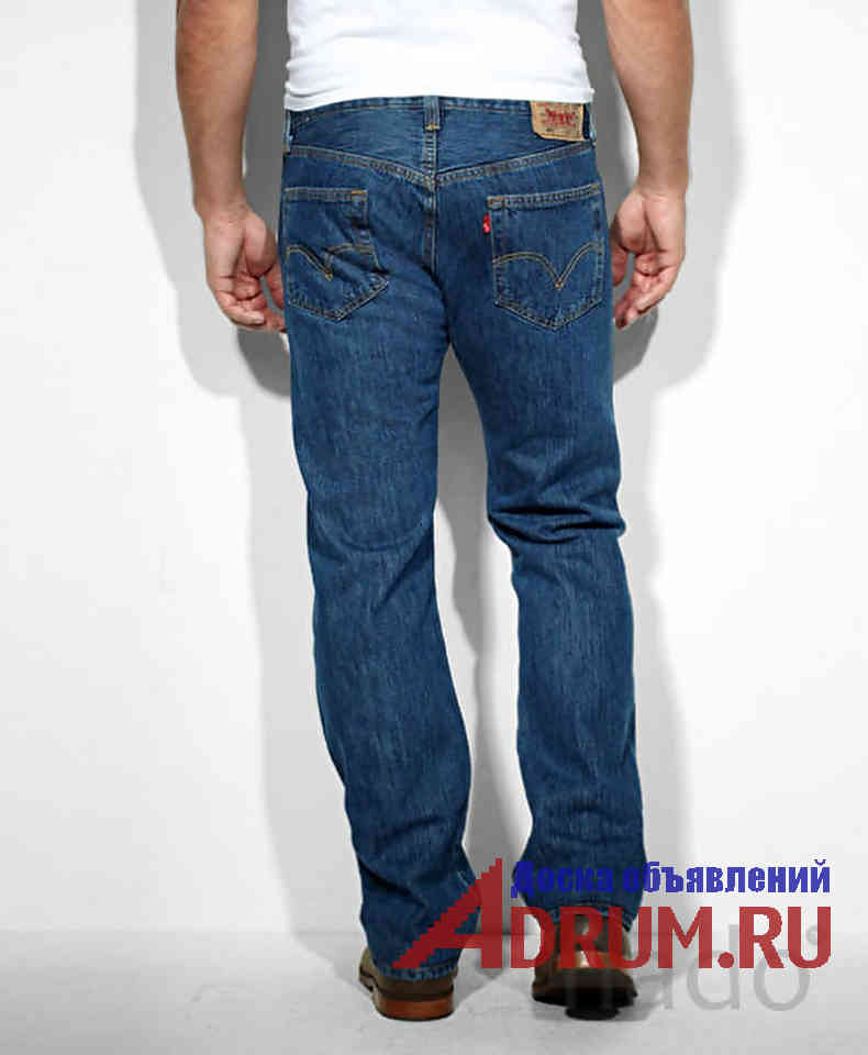 Джинсы Levis 501 Dark Stonewash W31 - W38 в Москвe